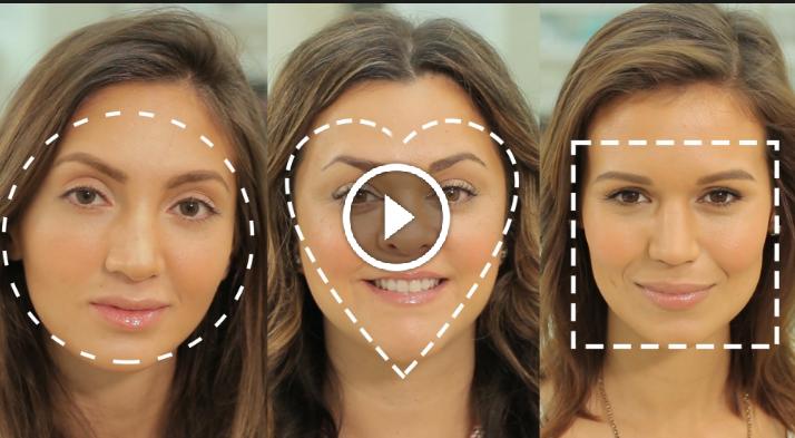 como contornear segun la forma de tu rostro