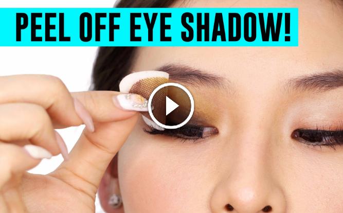 peel off eyeshadow