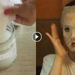 mascarilla para tener aclarar la piel y cerrar poros