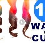 10 formas de hacer ondas en el cabello
