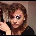 desastre en el cabello