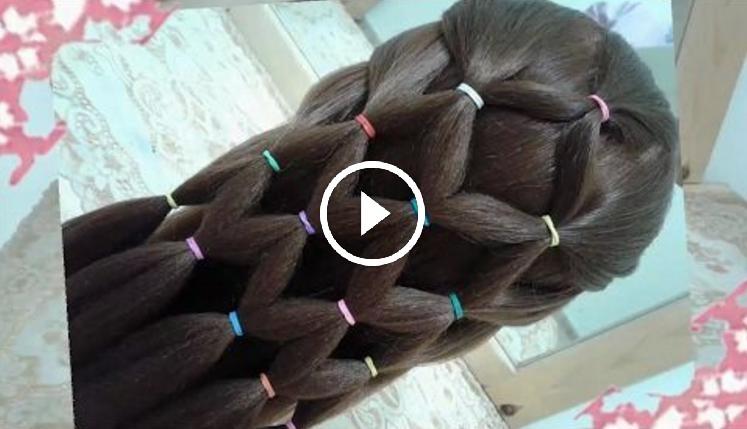 Mira Como Hacer Estos Peinados Con Ligas Para Ninas Faciles Y Rapidos