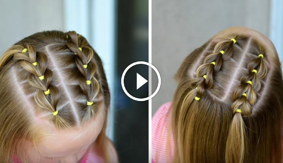 Aprende A Hacer Este Peinado Con Banditas Elásticas Y A Removerlas Sin Dañar El Cabello - Hair Beauty
