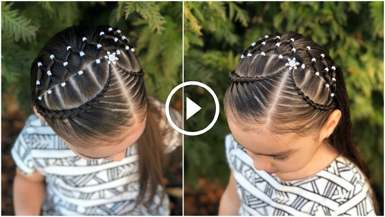 Peinado Para Nina Facil Y Rapido Con Ligas